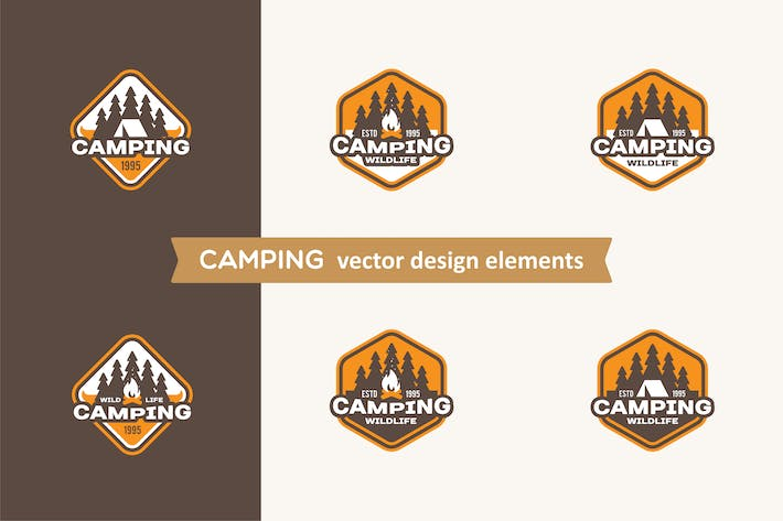 Thumbnail for Camping Labels