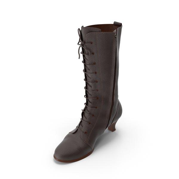 Women's High Heel Shoes Brown
