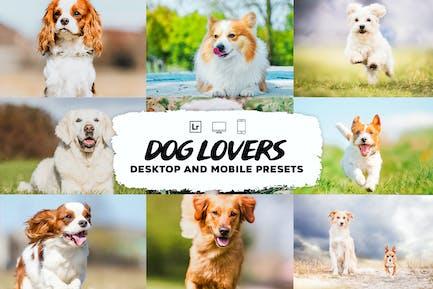 Коллекция Пресеты Lightroom для любителей собак