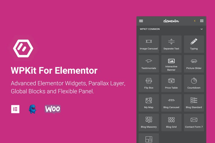Thumbnail for WPKit For Elementor - Advanced Widgets & Addon