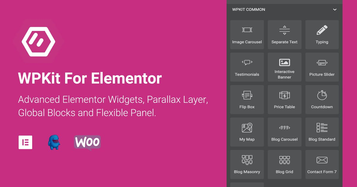 Download WPKit For Elementor - Advanced Widgets & Addon by ThemeVan