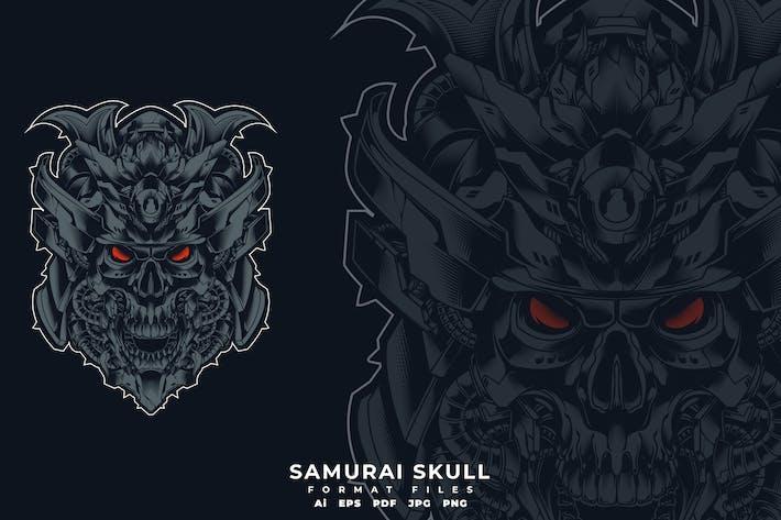 Thumbnail for Samurai Skull