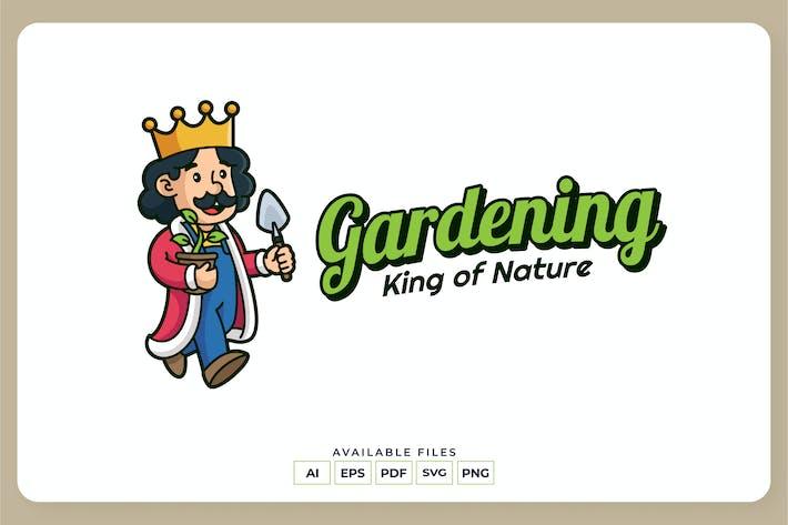 Thumbnail for Gardening King Logo