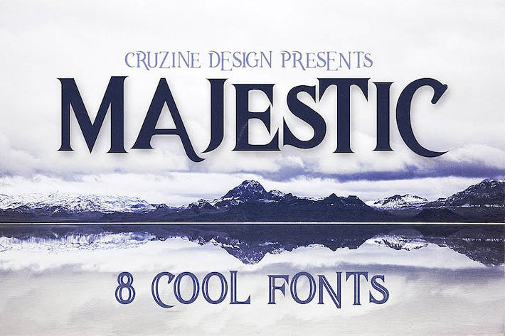 Thumbnail for Majestic Typeface