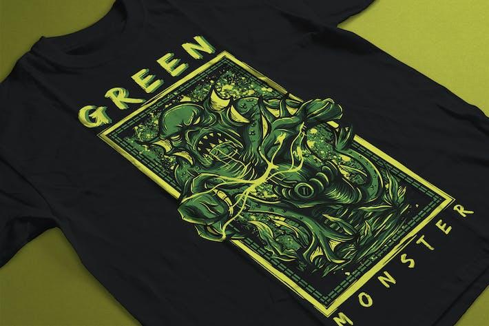 Cover Image For Green Monster