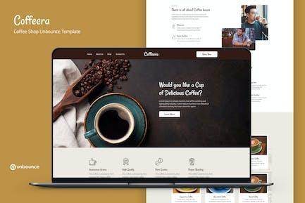 Coffeera — Coffee Shop Unbounce Template