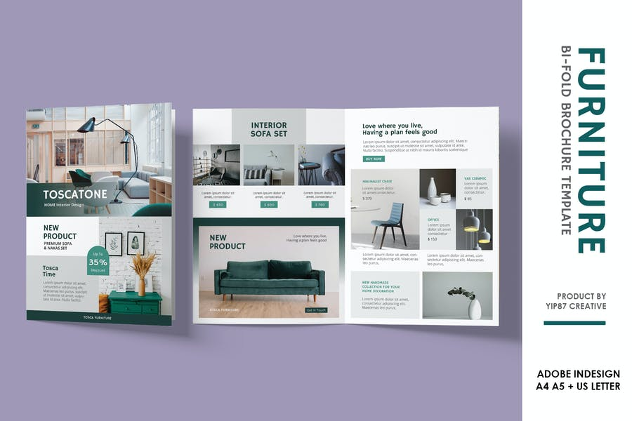 Furniture Bifold Brochure
