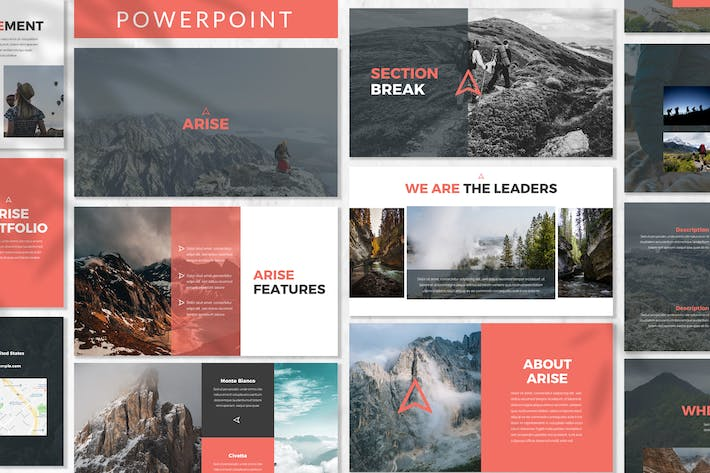 Thumbnail for Arise - Business Powerpoint Template