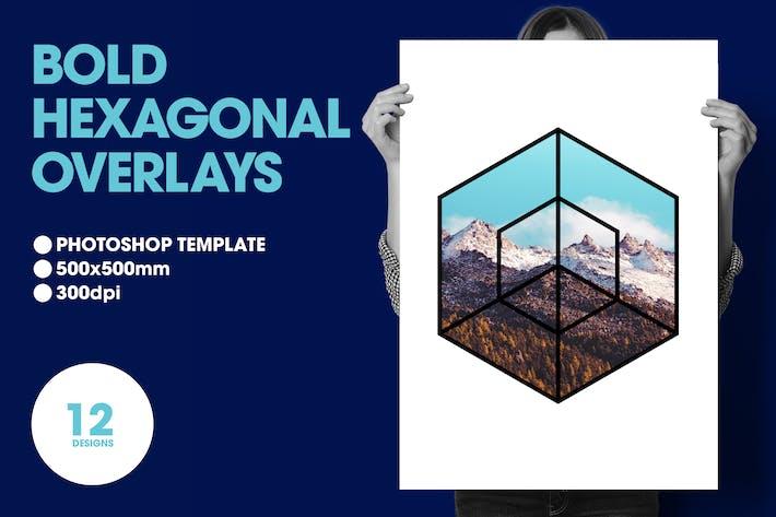 Thumbnail for Bold Hexagonal Overlays
