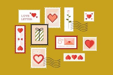 Love Stempel
