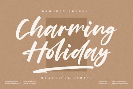 Charming Holiday Handwritten Font LS