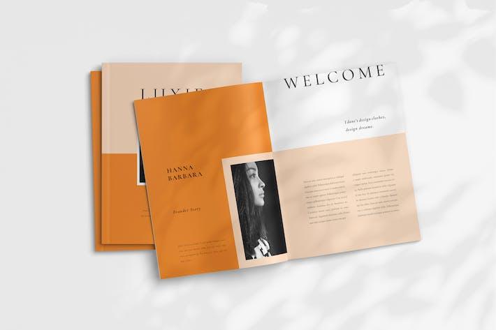 Thumbnail for Luxie - Fashion Portfolio Template