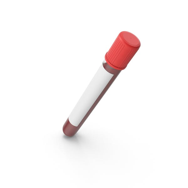Test Tube with Blood