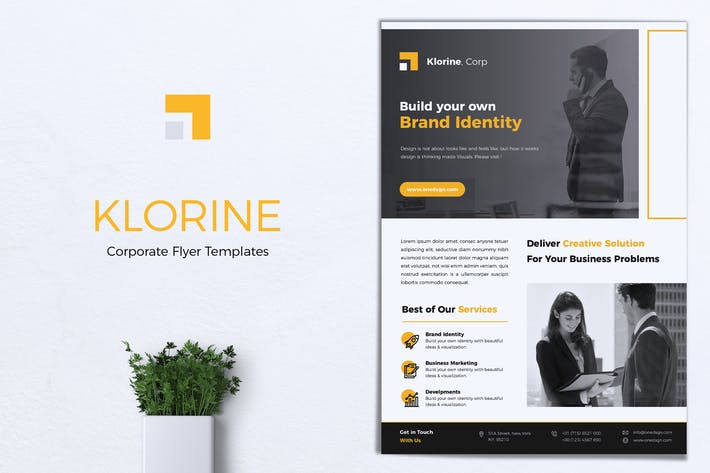 Thumbnail for KLORINE Corporate Business Flyer