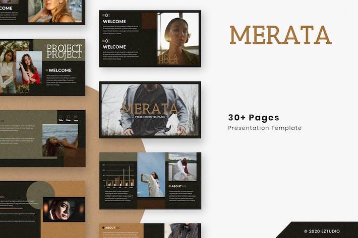 Thumbnail for Merata - Powerpoint Template