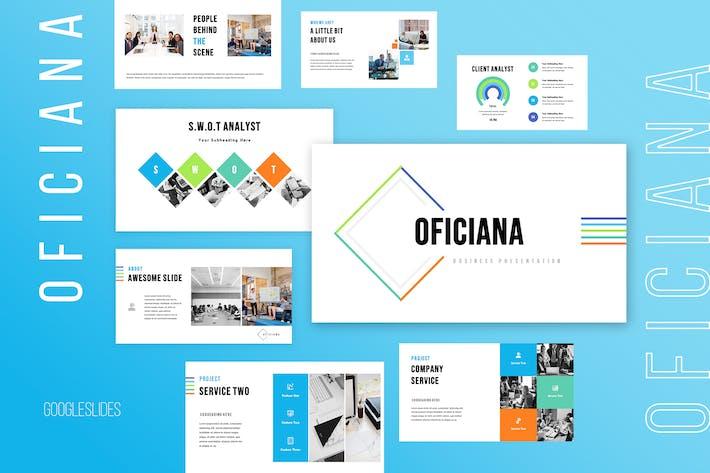 Thumbnail for Oficiana - Business Googleslides Presentation