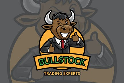 Stock Trading Logo - Mascot