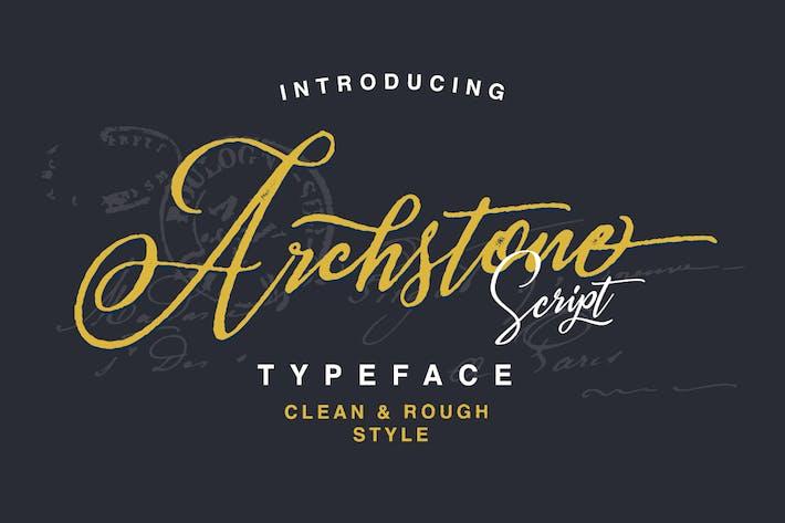 Thumbnail for Archstone Script