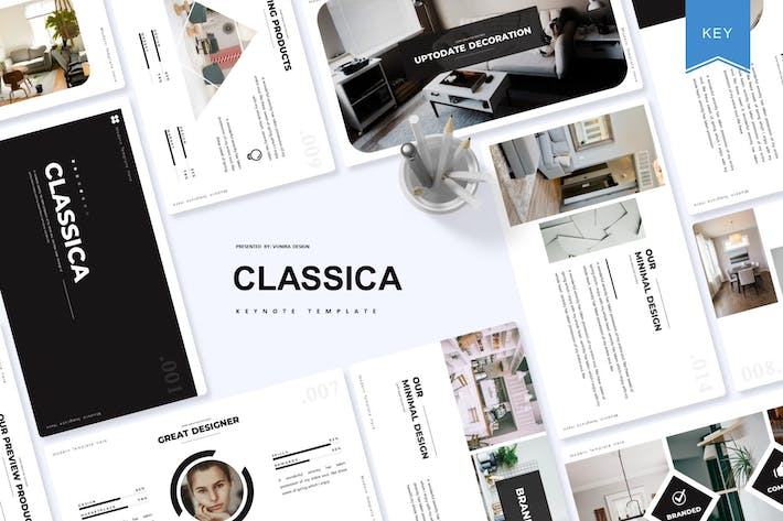 Thumbnail for Classica | Keynote Template