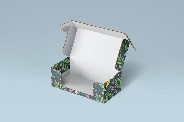 Front Tuck Product Box Mockup