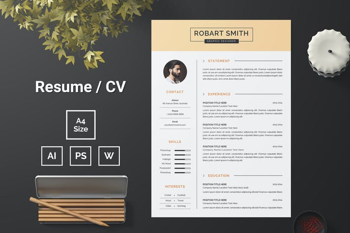 Thumbnail for Resume Template 88