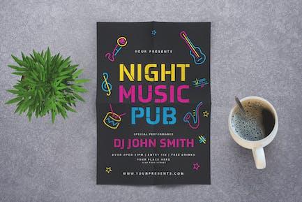 Music Night Pub Flyer