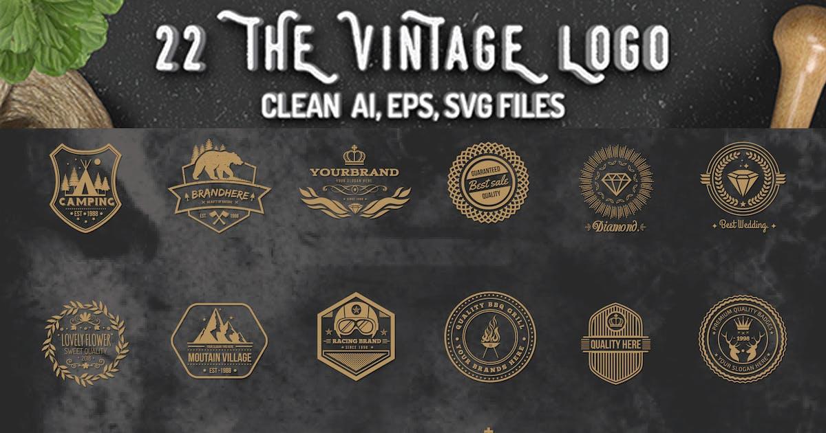 Download 22 Vintage Logos by mamanamsai
