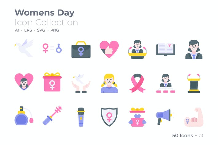 Thumbnail for Womens Day Color Icon