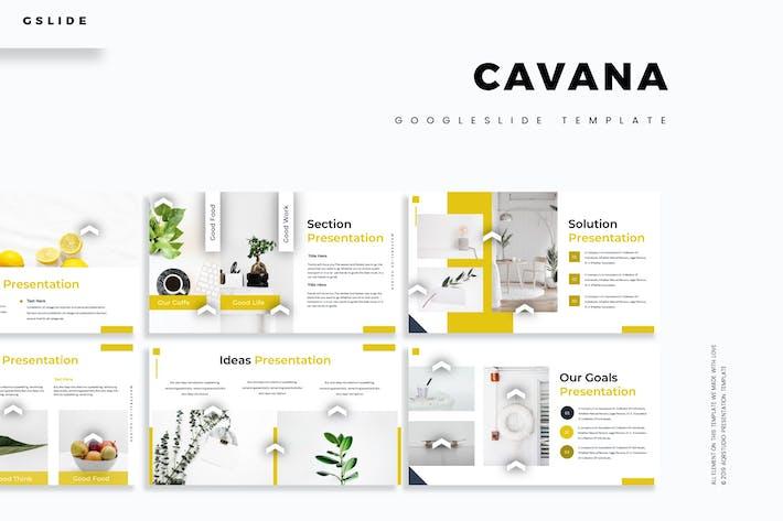Thumbnail for Cavana - Google Slides Template