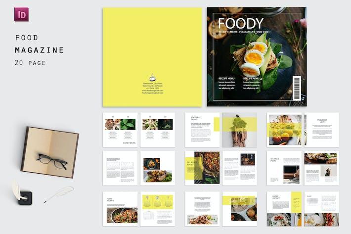 Thumbnail for Vegetarian Food Magazine