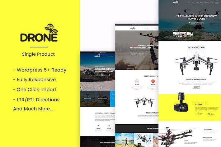 Drohne - Einzelprodukt WordPress Thema