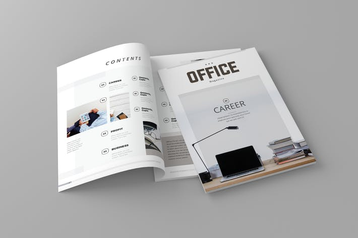 Thumbnail for Magazine Template Vol. 10