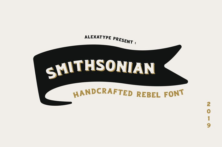 Thumbnail for Smithsonian Font
