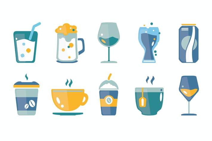 Thumbnail for Drinks & Beverages Icons