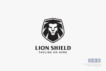 Lion Shield - Logo Design Template