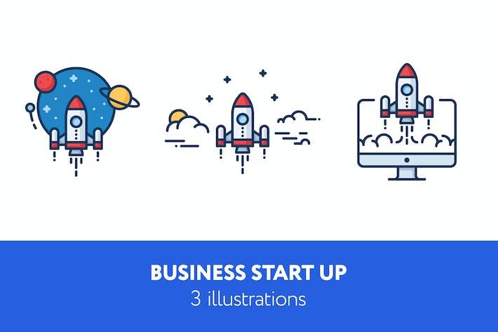 Thumbnail for Illustrationen für Unternehmensgründungen