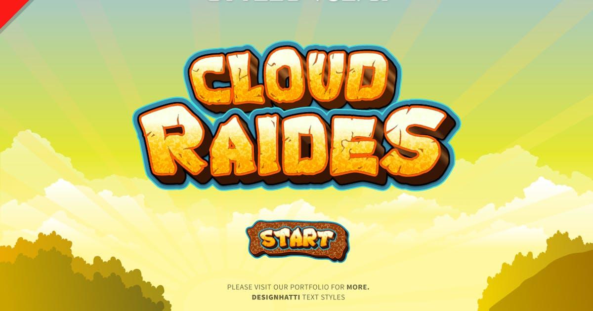 Download Game Logo Text Styles by designhatti