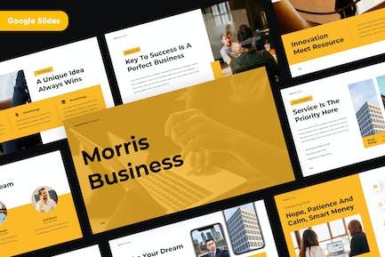MORRIS - Professional Google Slides Template