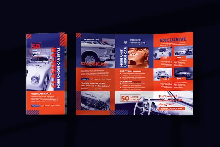 Thumbnail for Automotive Show Trifold Brochure
