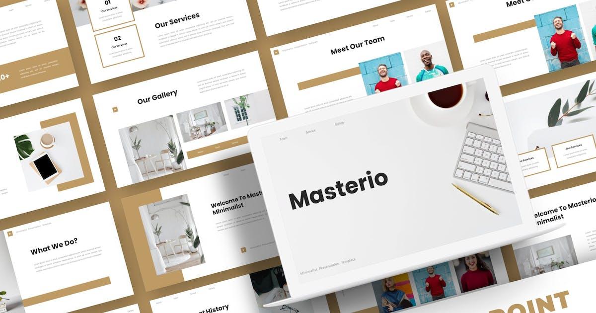 Download Masterio - Powerpoint Template by karkunstudio