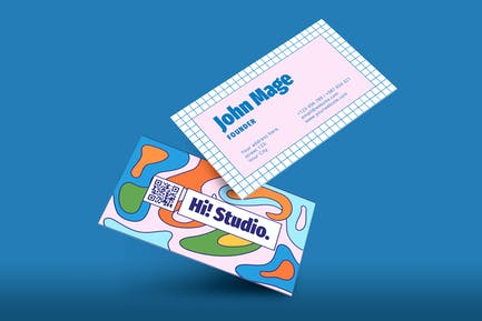 Colorfull Business Card
