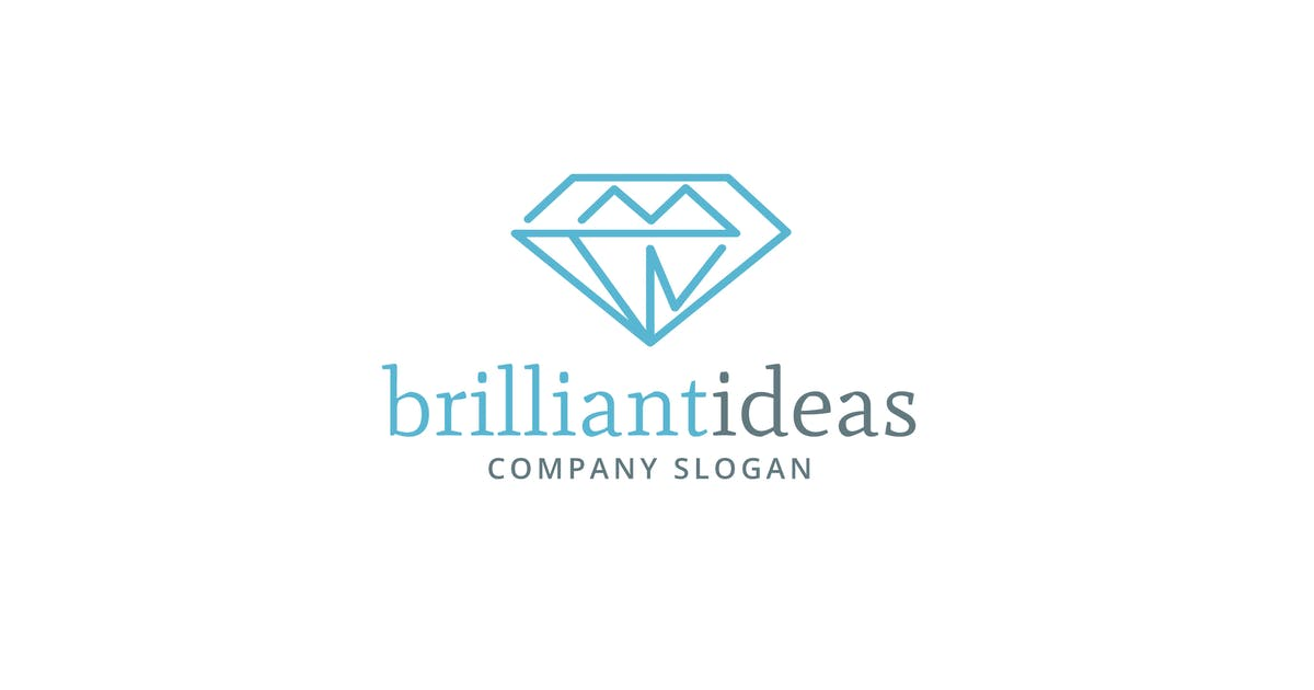 Download Brilliant Ideas Logo Template by Be_Themes