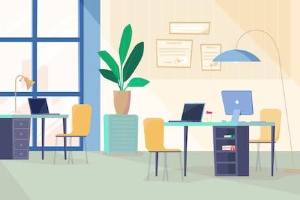 Programmers' Room - Illustration Background