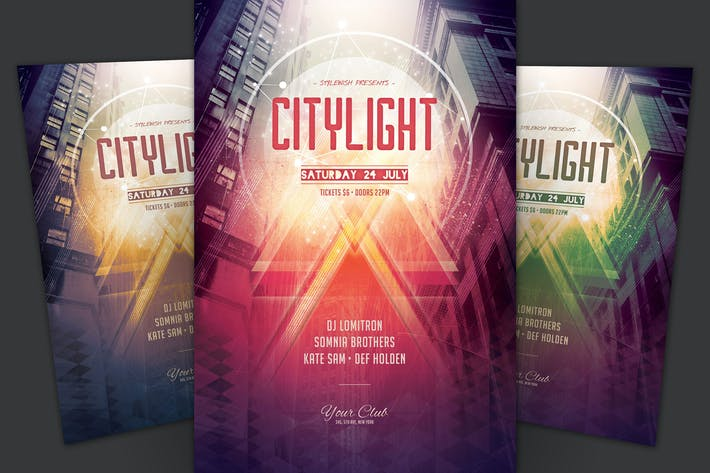 Thumbnail for City Light Flyer