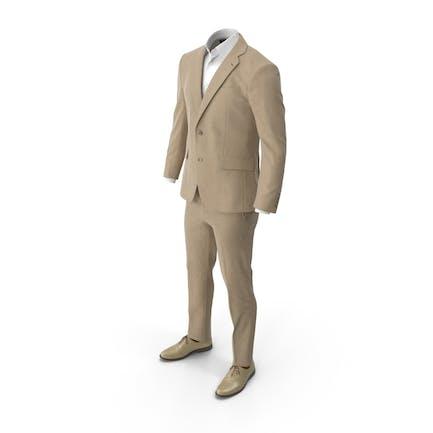Men's Suit Beige