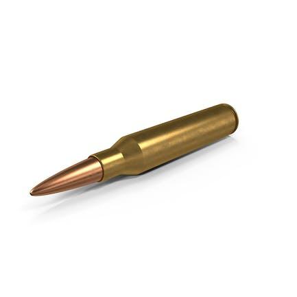 Cartucho de bala de rifle