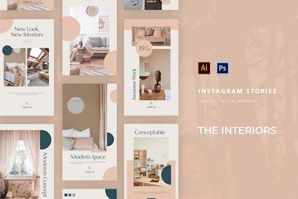 The Interiors Instagram Story