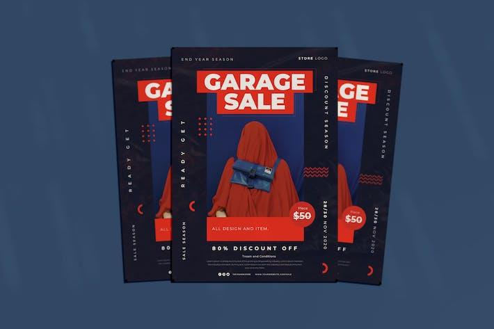 Thumbnail for Garage Sale Flyer