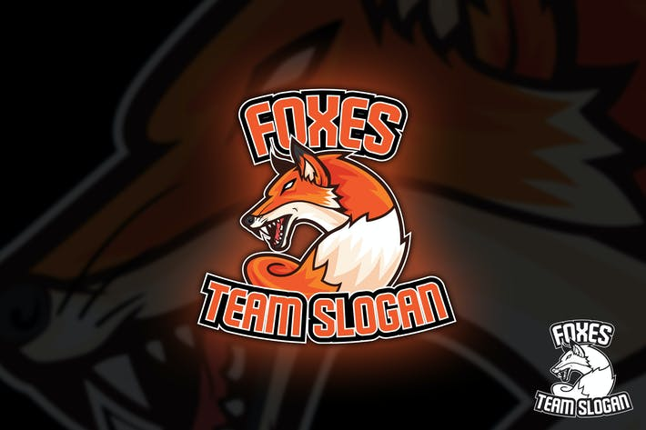 Thumbnail for Angry Fox Sport Logo Mascot