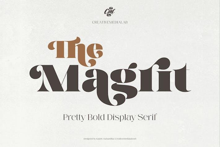 Magrit - Довольно смелый дисплей С засечками